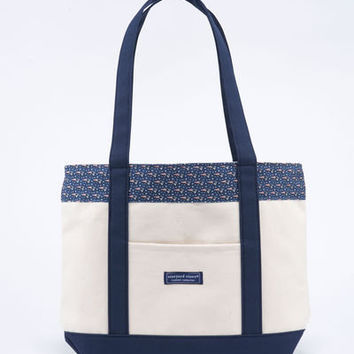NFL: New England Patriots Classic Tote for Women - Vineyard Vines