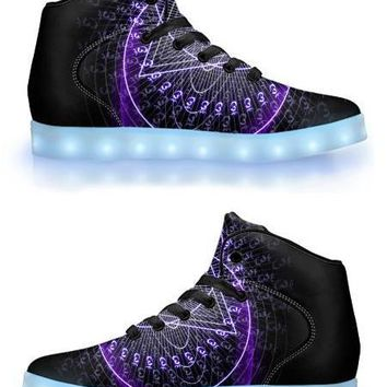 Ajna by Sam and Cate Farrand - APP Controlled High Top LED Shoe