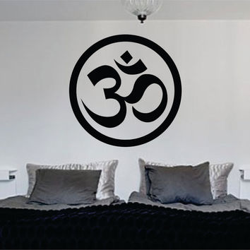 OM Symbol Version 1 Decal Sticker Wall Vinyl