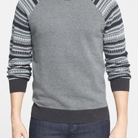 Men's 1901 Jacquard Raglan Crewneck Sweater