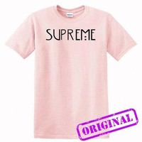 supreme american horror story copy for shirt light pink, tshirt light pink unisex adul
