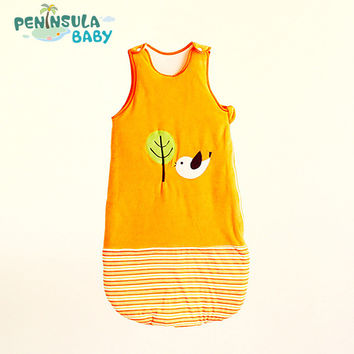 Baby Sleeping Bag Baby Cartoon Blanket Candy Sleeveless Winter Newborn Clothing Cute Animal bimba bag skip zoo