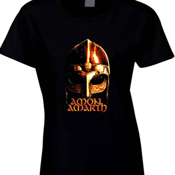 Amon Amarth Logo Cover  Womens T Shirt