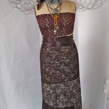 Mannequin art piece with wings Industrial vintage dress form figure steam punk inspired home decor Anita Spero