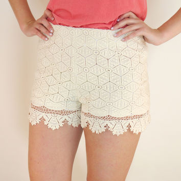 Cream of the Crop Shorts