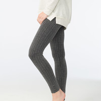 JUST ONE Cable Knit Womens Leggings | Leggings