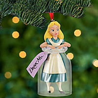 Alice in Wonderland Sketchbook Ornament | Disney Store