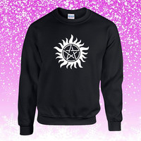 Supernatural Tattoo Sweater Sweatshirt Unisex Adults