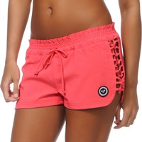 Roxy Knotted Up Pardise Pink Board Shorts