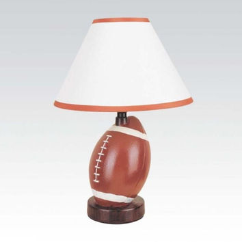 All Star Ceramic Football Table Lamp 03873
