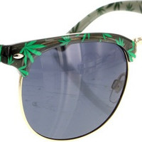 Happy Hour Herman G2 High Times Black Sunglasses