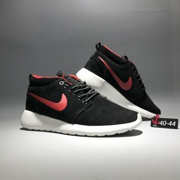 91294eba58f5 Nike Roshe Run Men Sport Casual Fashion Anti-fur High Help Boots