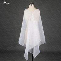 RSJ145 Organza Bridal Wedding Shawl