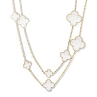Magic Alhambra long necklace, 16 motifs - Van Cleef & Arpels