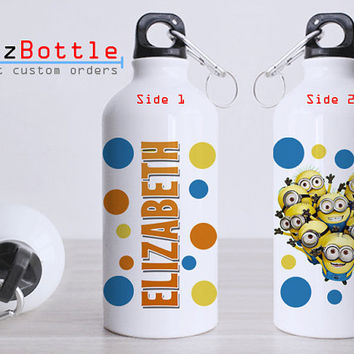 Minion Personalized - Bottle Sport - Custom Water Bottle -  Club Bottle Sport - Include Name