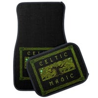 Celtic Magic Set of 4 Car Mats