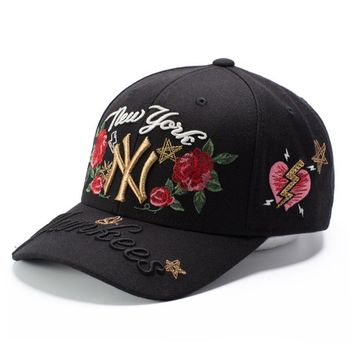 Diamonds Cap Summer Embroidery Baseball Cap [211443580940]