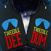 Tweedle Dee and Tweedle Dum | Besties Tanks - LOOKHUMAN.COM