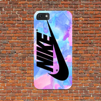 nike pink pastel brush case design for all phone device