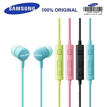 Samsung Earphone HS130 Wired Headsets with Microphone Music Earphones 5 Color for S8 S8Edge Support Official Verification