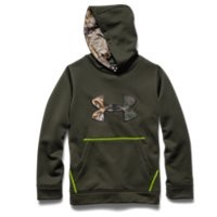 Under Armour Boys UA Storm Caliber Big Logo Hoodie