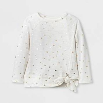 Toddler Girls' T-Shirt - Cat & Jack™ Cream