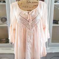 IN YOUR DREAMS TOP IN BLUSH
