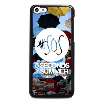 5 seconds of summer 4 5sos iphone 5c case cover  number 1