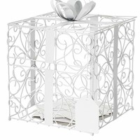 Reception Gift Card Holder Style 1943, White