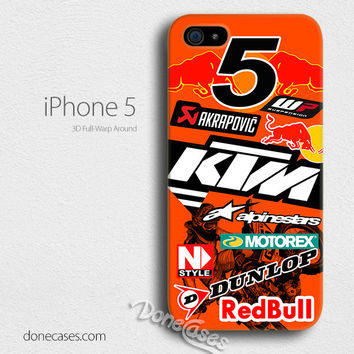 ryan dungey ktm motocross iPhone 4/4 Case, iPhone 5/5s/5c, iPhone 6 / iphone 6 plus case
