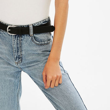 Wide die-cut belt - Belts - Bershka United States