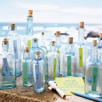 beach bottle name tags