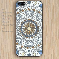 iPhone 5s 6 case colorful sun and moon mandala phone case iphone case,ipod case,samsung galaxy case available plastic rubber case waterproof B311