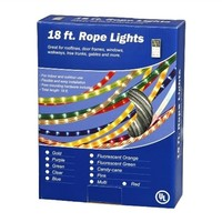 18' Clear Rope Light