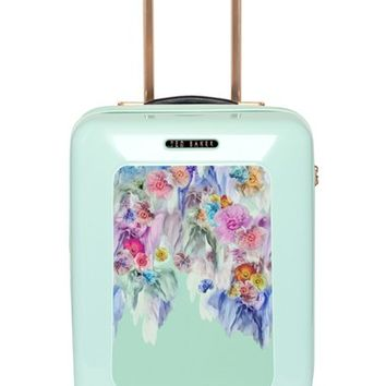 Ted Baker London 'Small Sugar Sweet Floral' Suitcase (21 Inch)