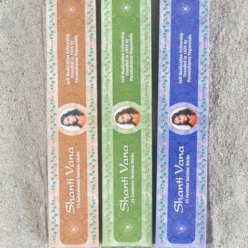 Shanti Vana Incense by Self Realization Fellowship