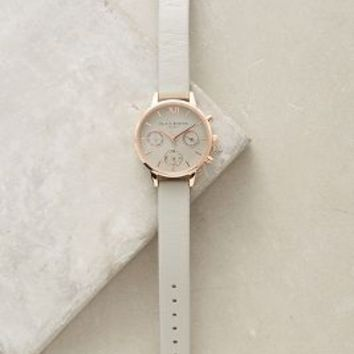Olivia Burton Big Dial Alcie Watch in Grey Size: One Size Watches