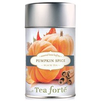 Tea Forte PUMPKIN SPICE Loose Leaf Black Tea, 3.5 Ounce Tea Tin - Walmart.com