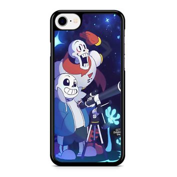 Undertale - Sans And Papyrus Waterfall iPhone 8 Case