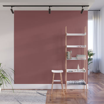 Marsala Wall Mural by spaceandlines