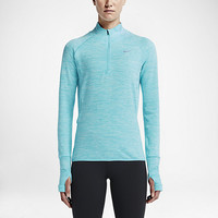 The Nike Element Sphere Half-Zip Women's Running Shirt.