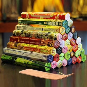 9 Boxes of Mixed Authentic Indian Incense