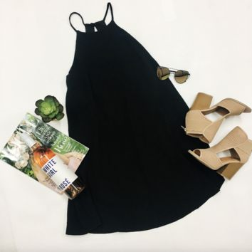 Gameday Ready Dress - Black