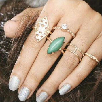 One-nice™ Fashion women sexy New Arrival Gift Shiny Stylish Jewelry Gemstone Diamonds Twisted Ring