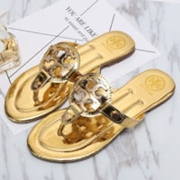 Torrey burch Casual Fashion Women Sandal Slipper Shoes G-YJBD-2H