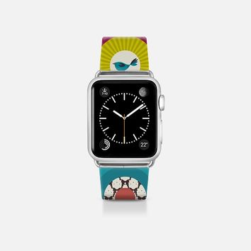 little bird squares apple watch band Apple Watch Band (38mm)  by Sharon Turner | Casetify