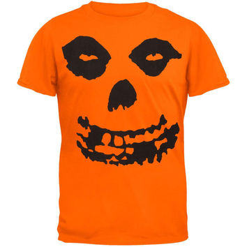 Misfits - All-Over Skull Orange T-Shirt
