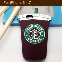 Retail 1pcs Luxury Brand Starbucks Coffee Cup Case Soft Silicon Back Cover For iPhone 5 5S 6 6 plus starbuck Fee Shipping-in Phone Bags & Cases from Phones & Telecommunications on Aliexpress.com | Alibaba Group