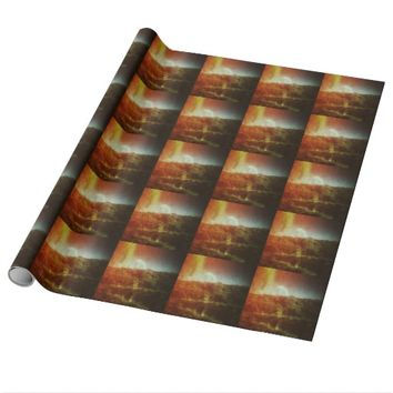 Rainbow Hill Wrapping Paper