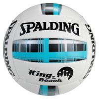 SPALDING BLUE Spalding blue plaid volleyball